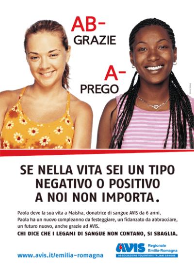 "Spot ""Grazie - Prego"" - campagne avis"