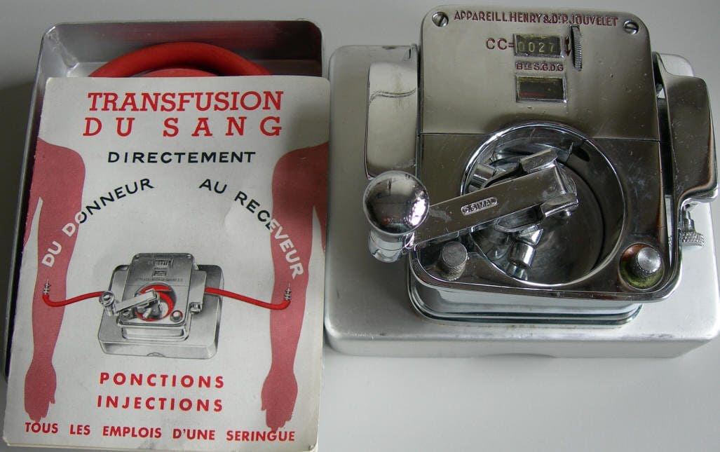 trasfusuine henry e jouvelet
