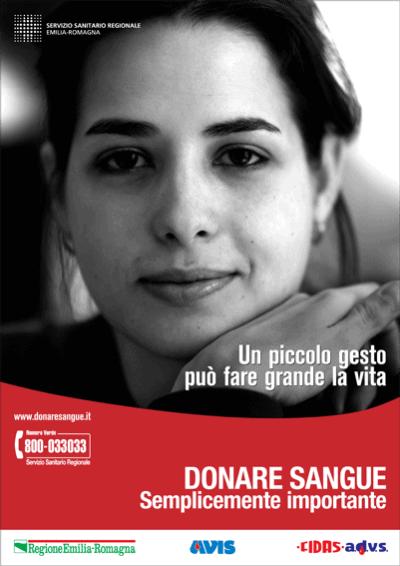 Donare sangue. Semplicemente importante 1 - campagne avis