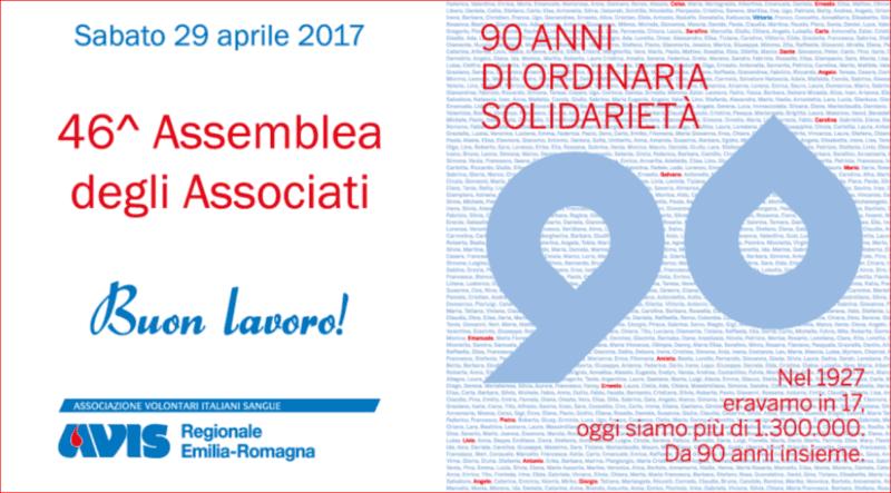 assemblea regionale avis emilia romagna 2017