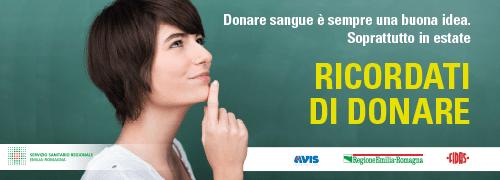 SMS e mail ai donatori