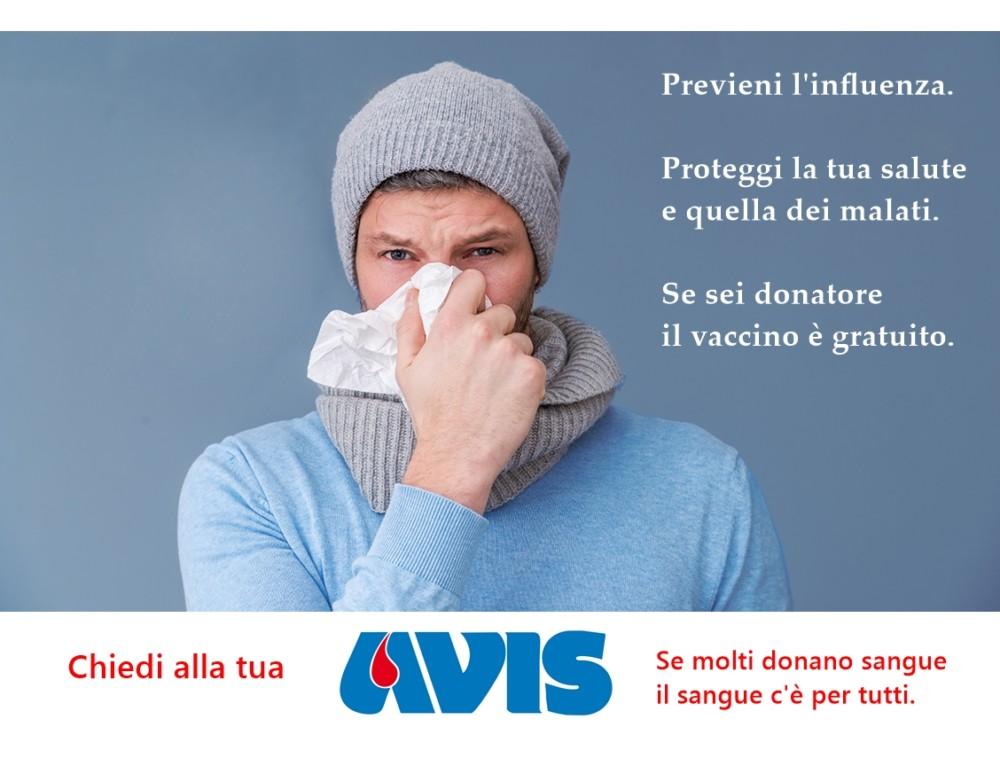 Donatore, proteggi la salute dei malati: #vaccinati.