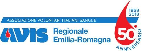 Logo AVIS Emila-Romagna 50 Anni