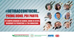 Campagna estiva social donazione sangue