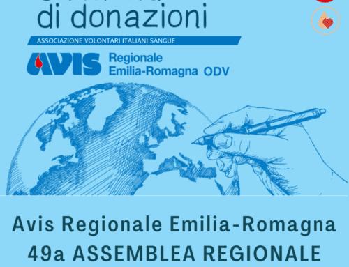 Un mondo di donazioni, l'assemblea annuale di Avis Emilia-Romagna